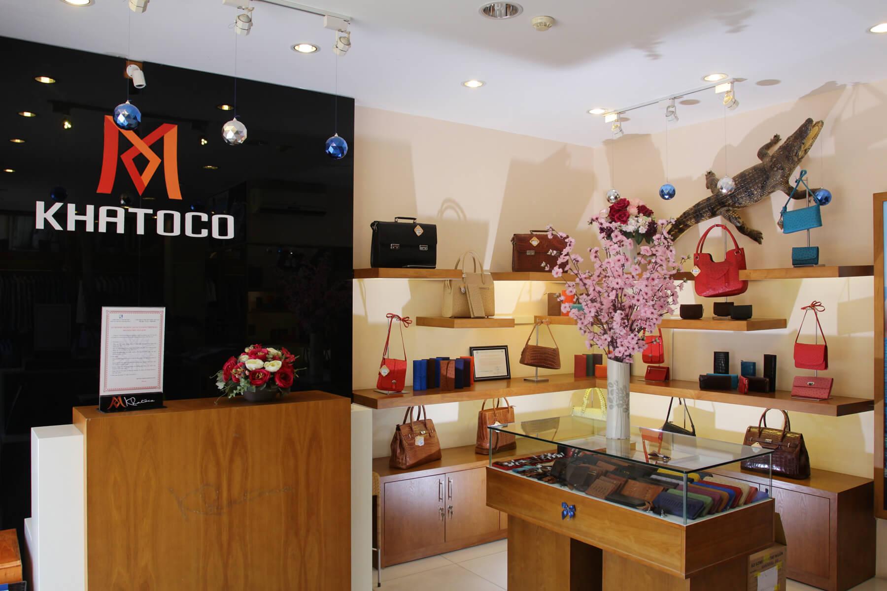 В магазине Khatoco