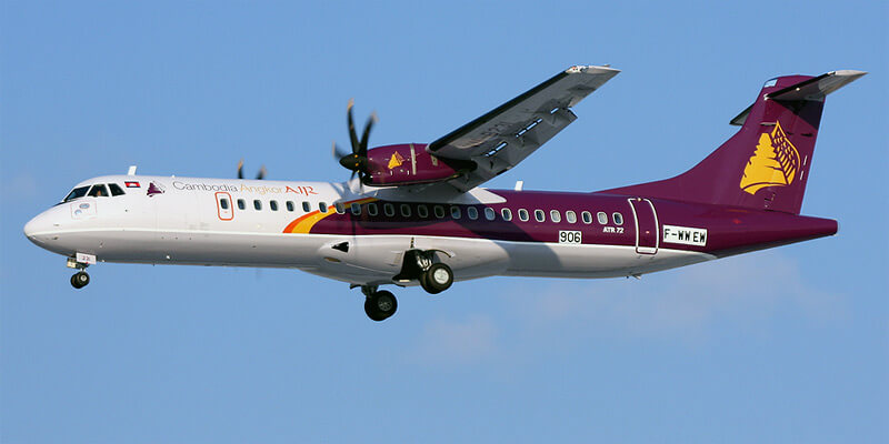 Самолет авиакомпании Cambodia Angkor Air