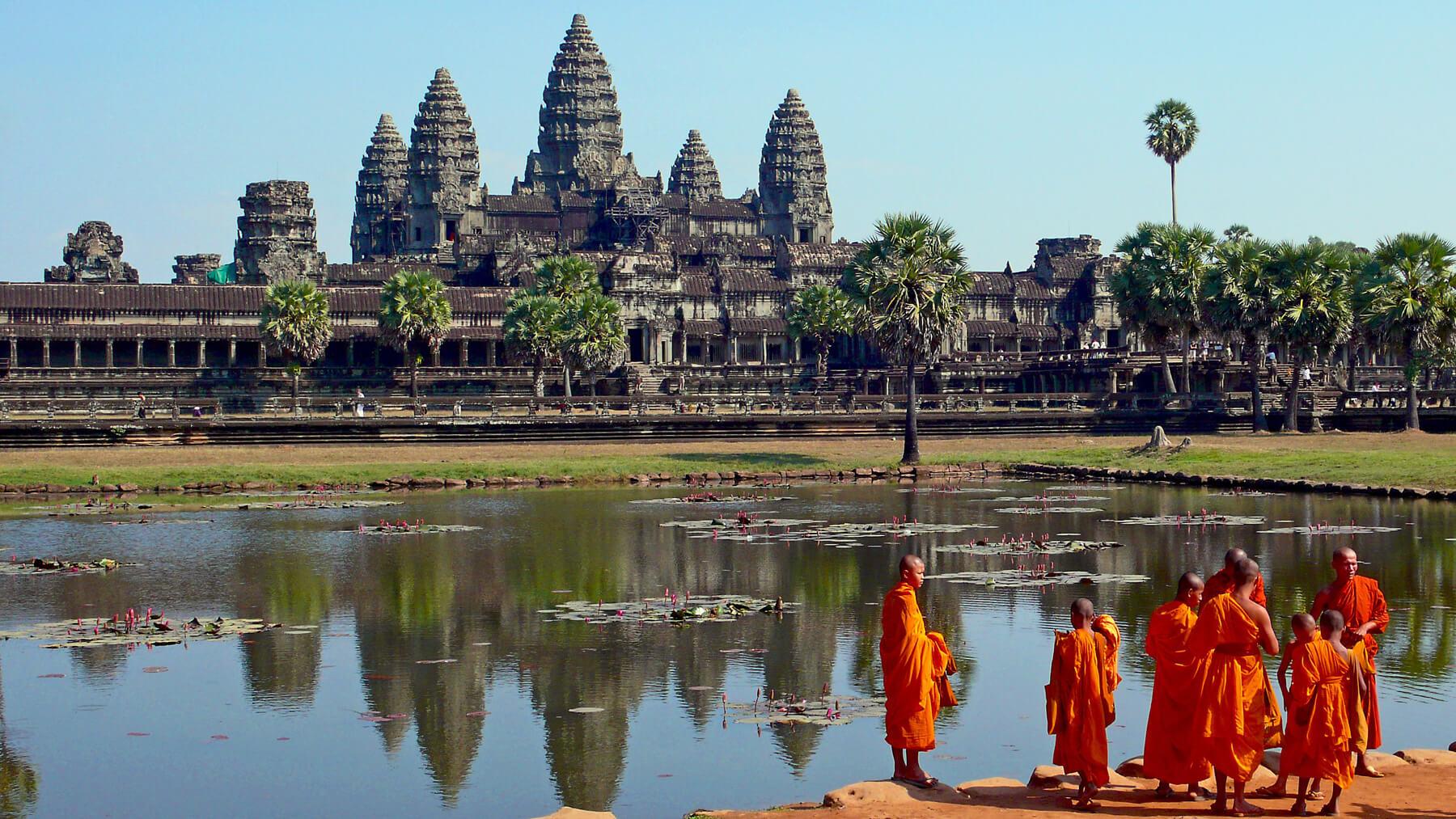 Ангкорский парк в Сием-Рипе, Камбоджа
