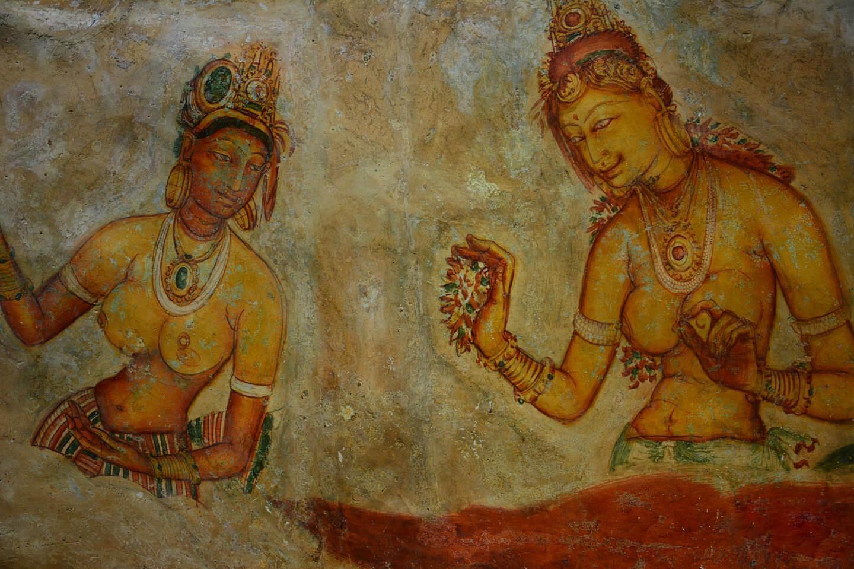 Уникальная техника фрески