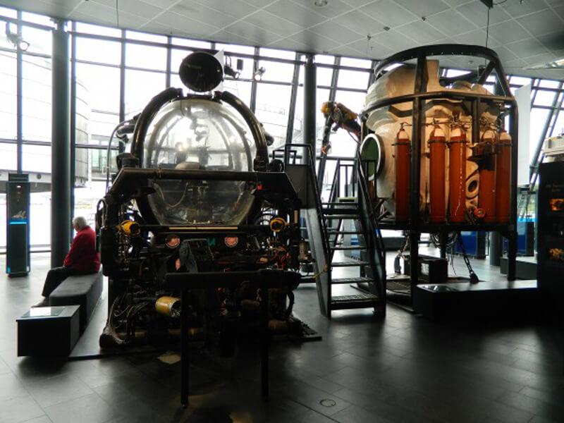 Батискафы в музее нефти в Ставангере
