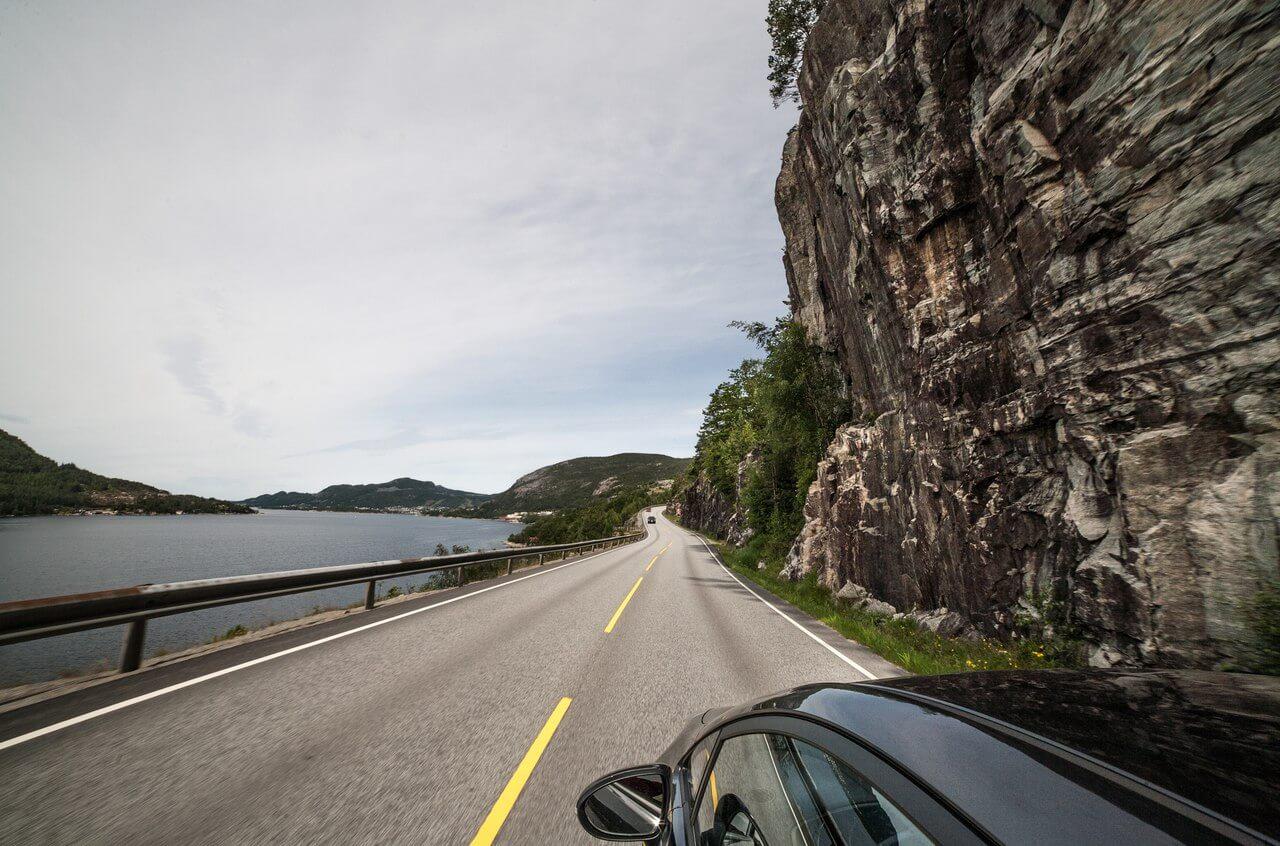 Дорога до до Ставангера