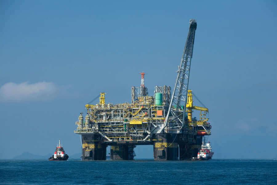 Нефтяная вышка Норвегия