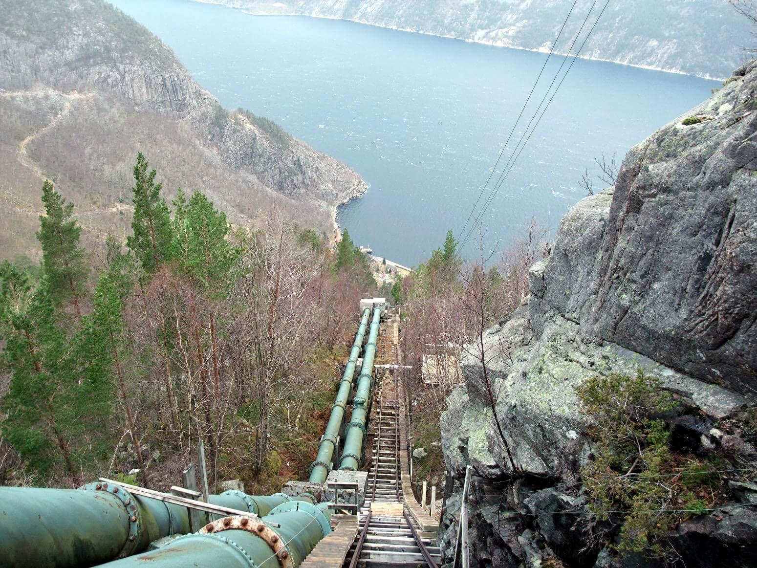Лестница Флерли, Норвегия