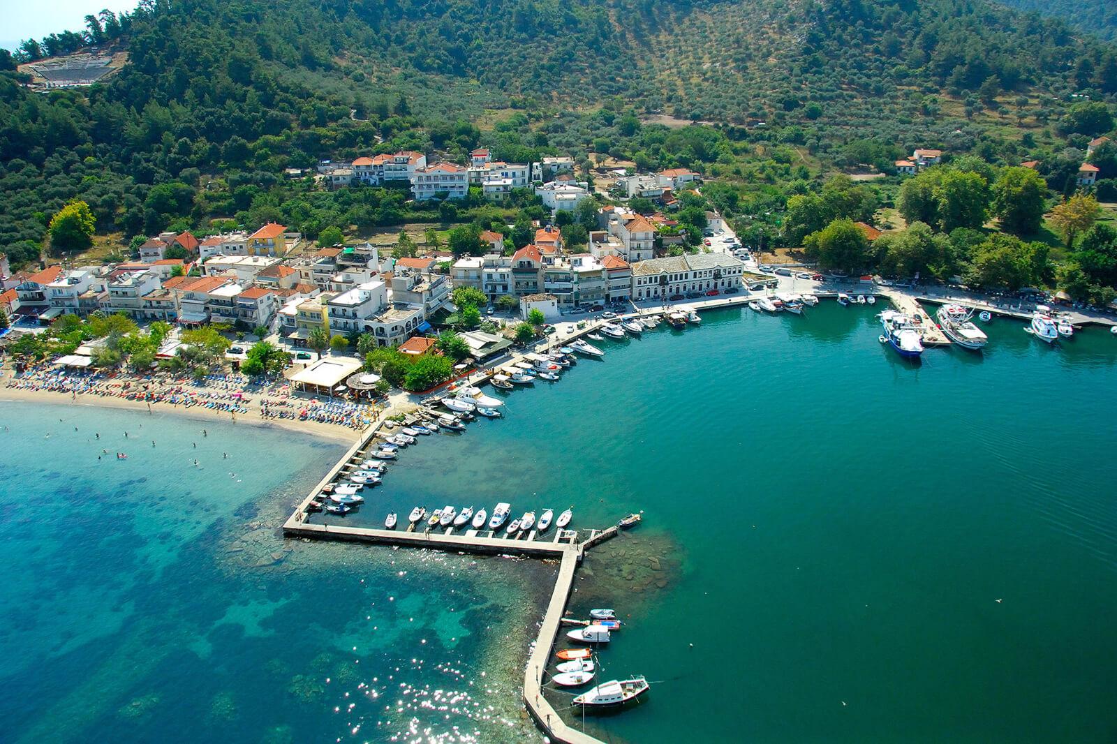 Лименас – античная столица острова