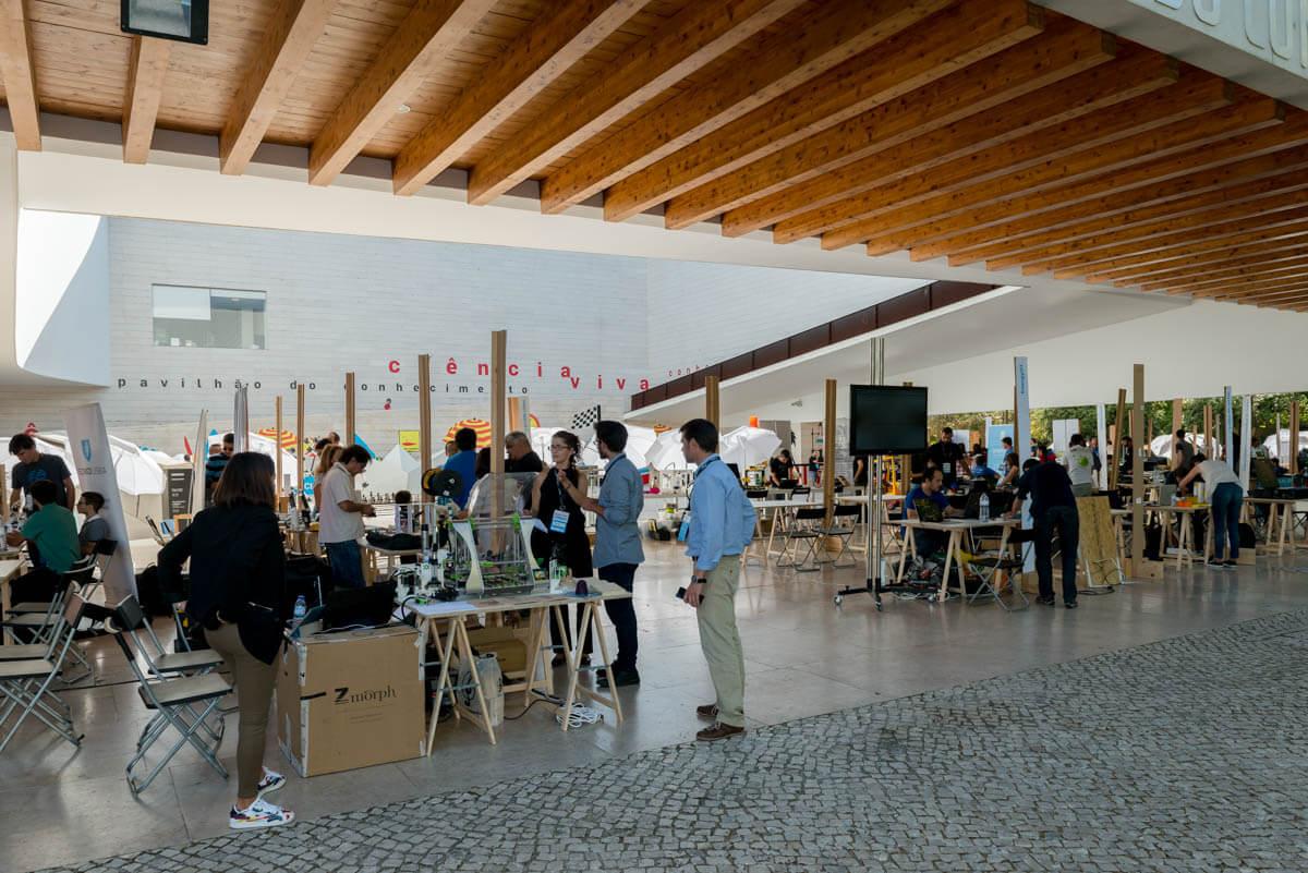 На выставке в музее науки в Лиссабоне