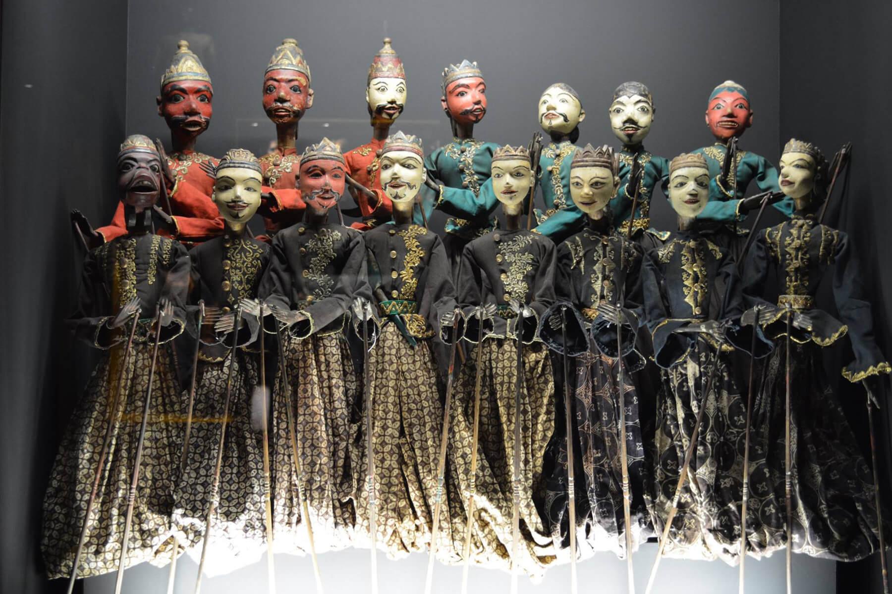 В музее марионеток в Лиссабоне