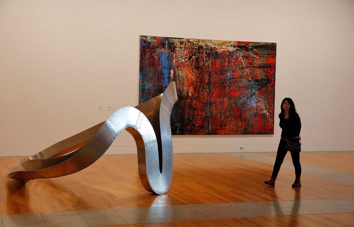 Экспозиции в музее современного и нового искусства Берардо
