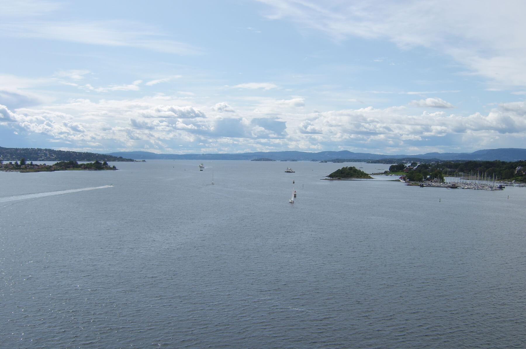 Осло-фьорд - это залив