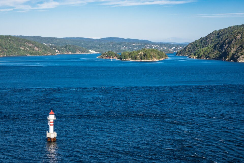 На экскурсии по Осло-фьорду