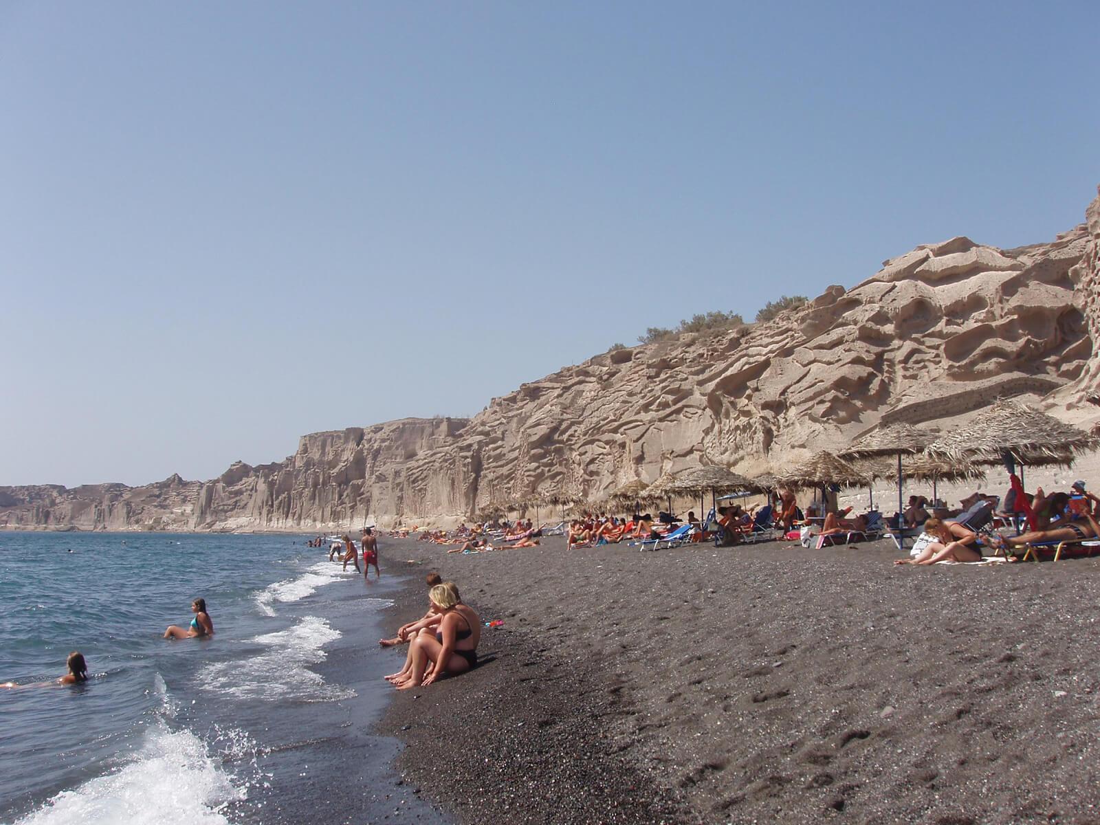 Пляж Vlychada Beach