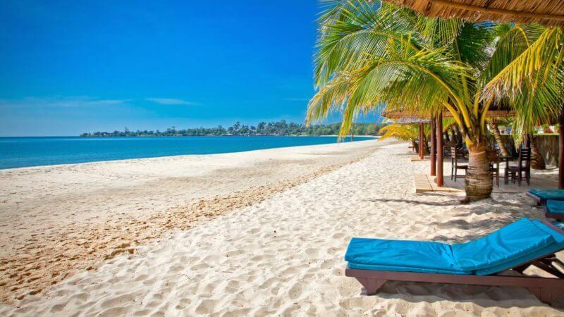 Фото: пляж в Сиануквиле