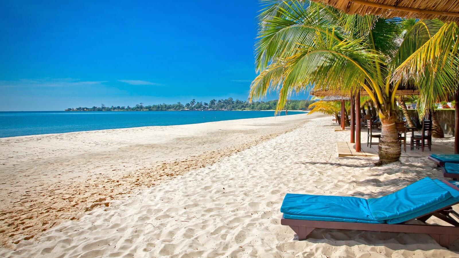 Сиануквиль – один из самых популярных курортов Камбоджи