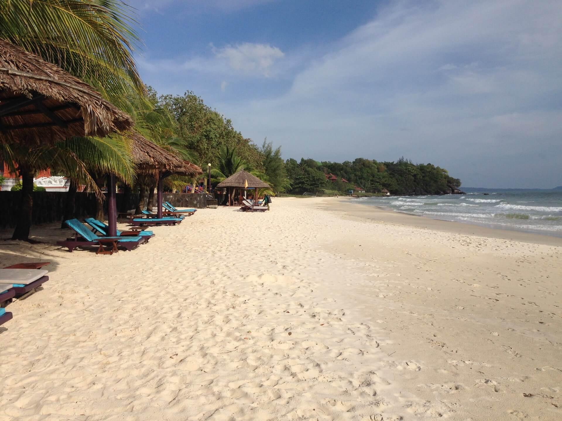 Сокха - живописный пляж Сиануквиля