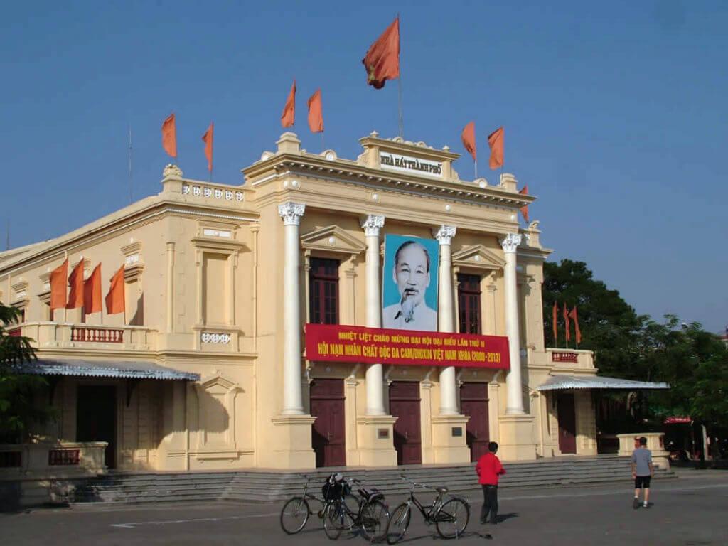 Оперный театр в городе Хайфон