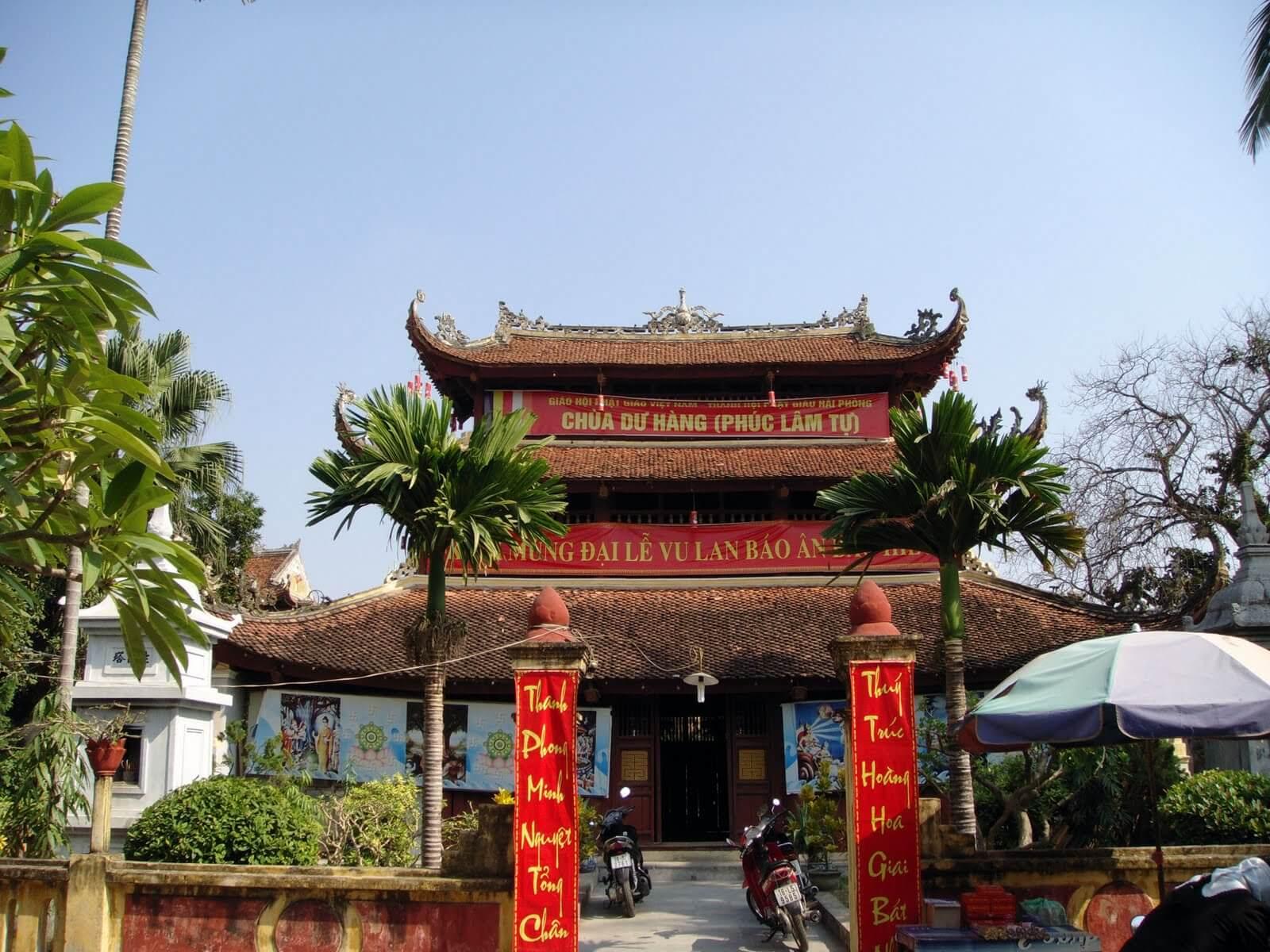 Буддистская пагода Ду Ханг в Хайфоне