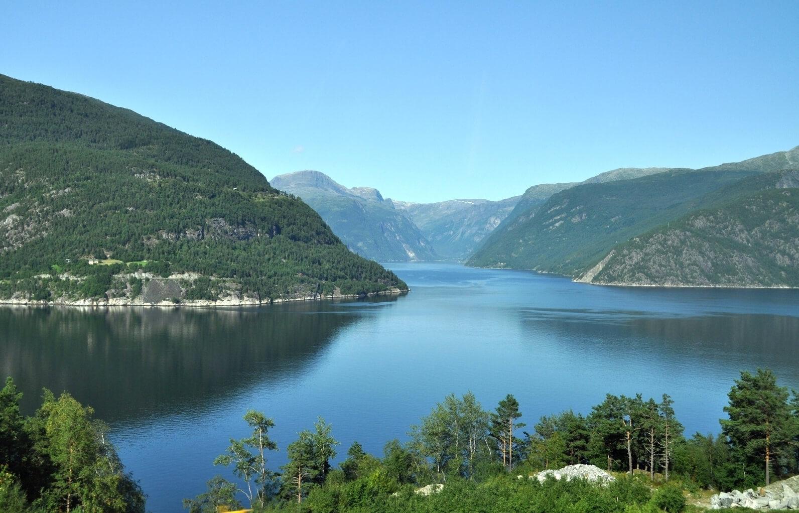Хардангерфьорд, Норвегия