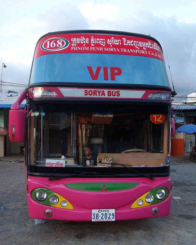Автобус Sorya Bus Сиануквиль - Пном-Пень