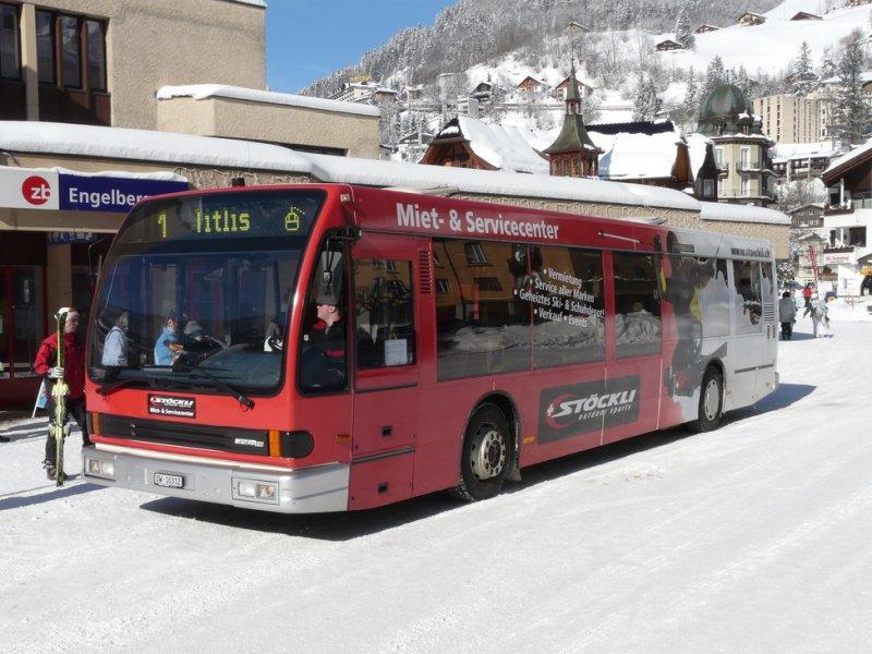 Автобус от железнодорожной станции Энгельберга