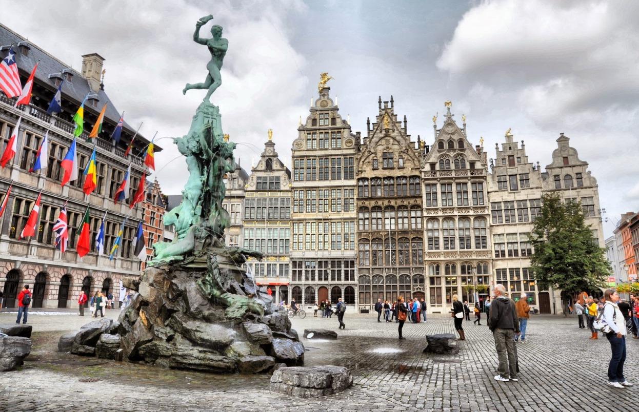 Фото: город Антверпен