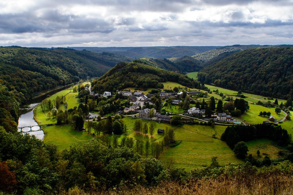 Фото: Арденские горы на территории Бельгии