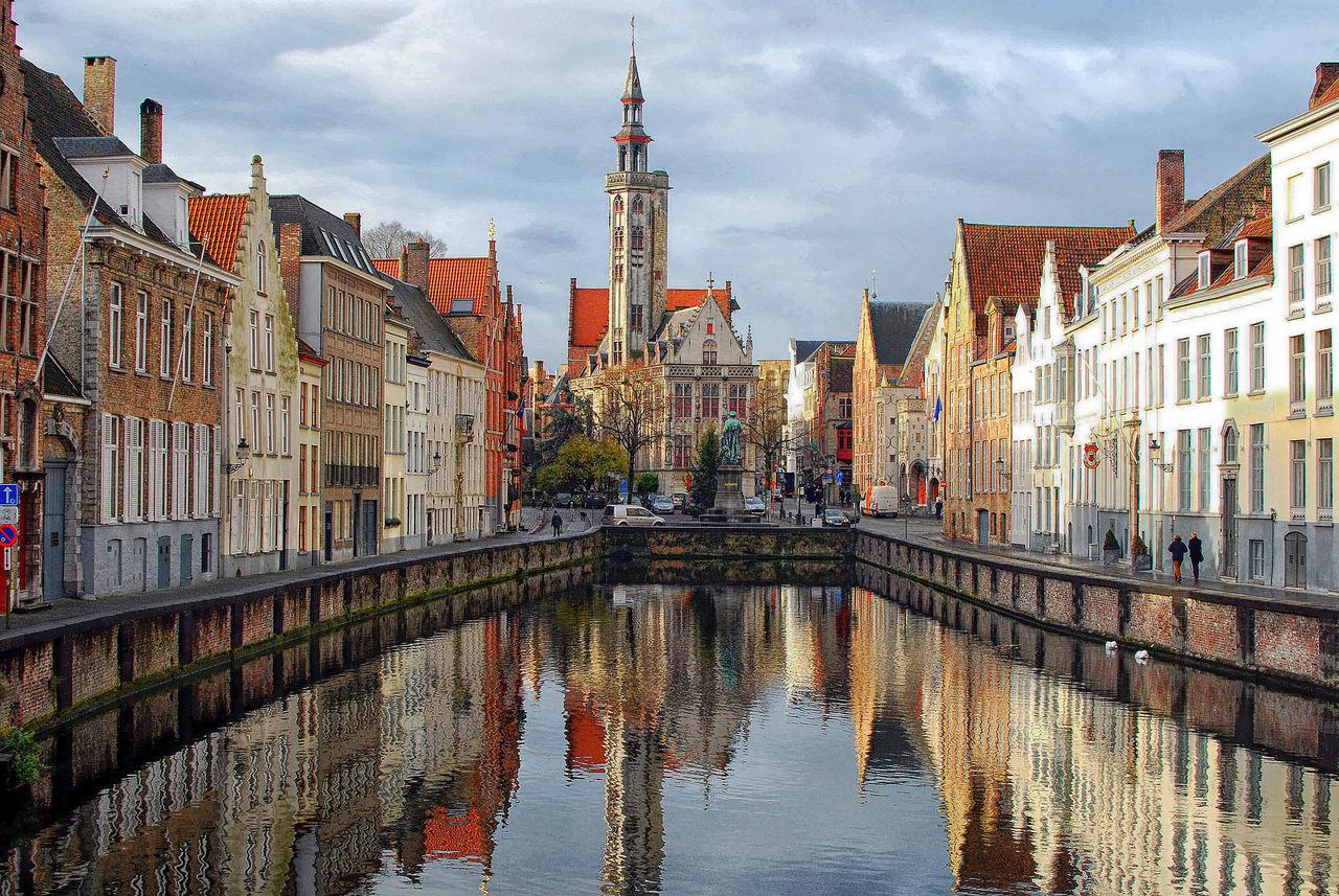 Город Брюгге, Бельгия