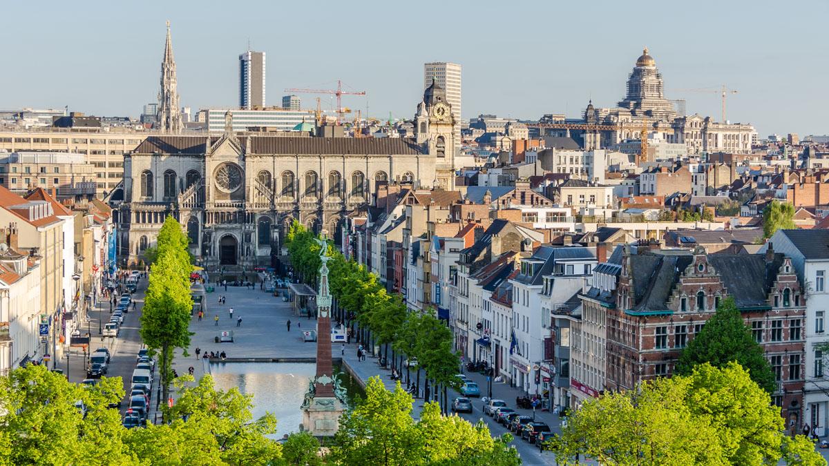 Фото: город  Брюссель