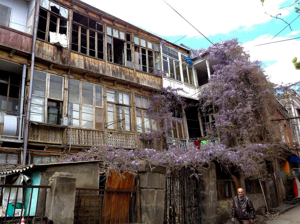 Ветхость зданий в районе Сололаки