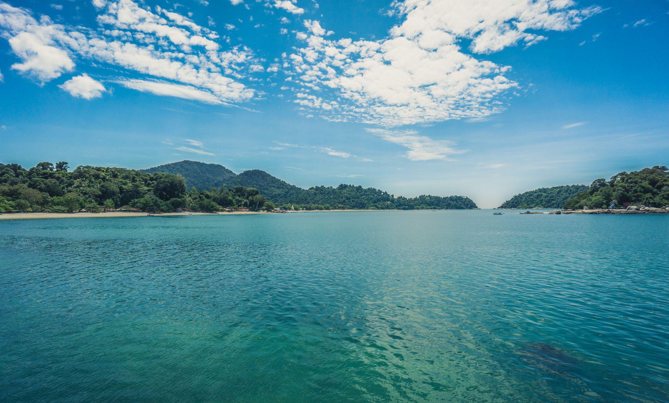 Вид на остров Пангкор