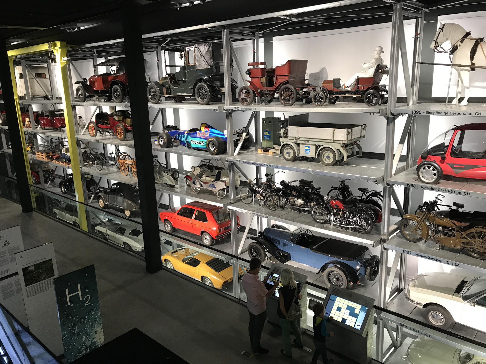 В музее транспорта, Люцерн