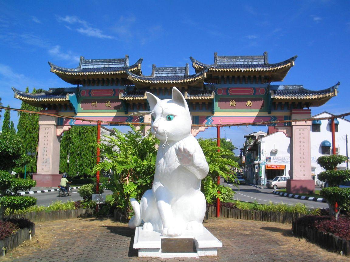 Главный кот города – Great Cat of Kuching
