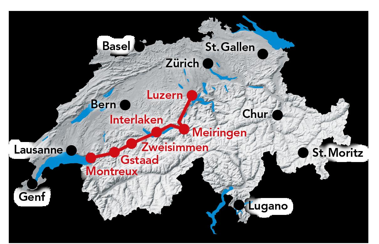 Голден Пасс Лайн - знаменитый железнодорожный маршрут