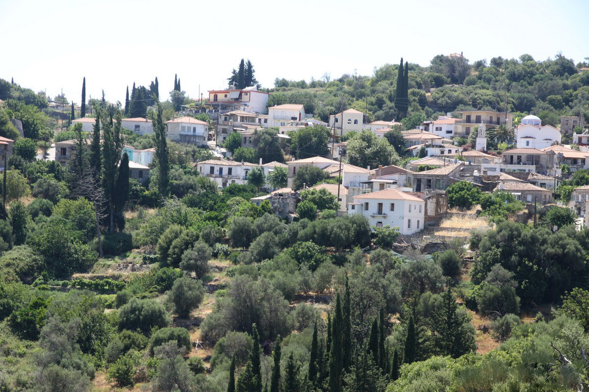Деревня Кумарадеи, Самос