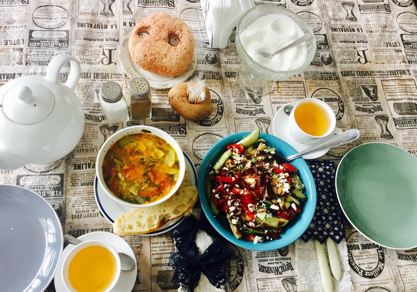 Завтрак в Гастробаре Гости