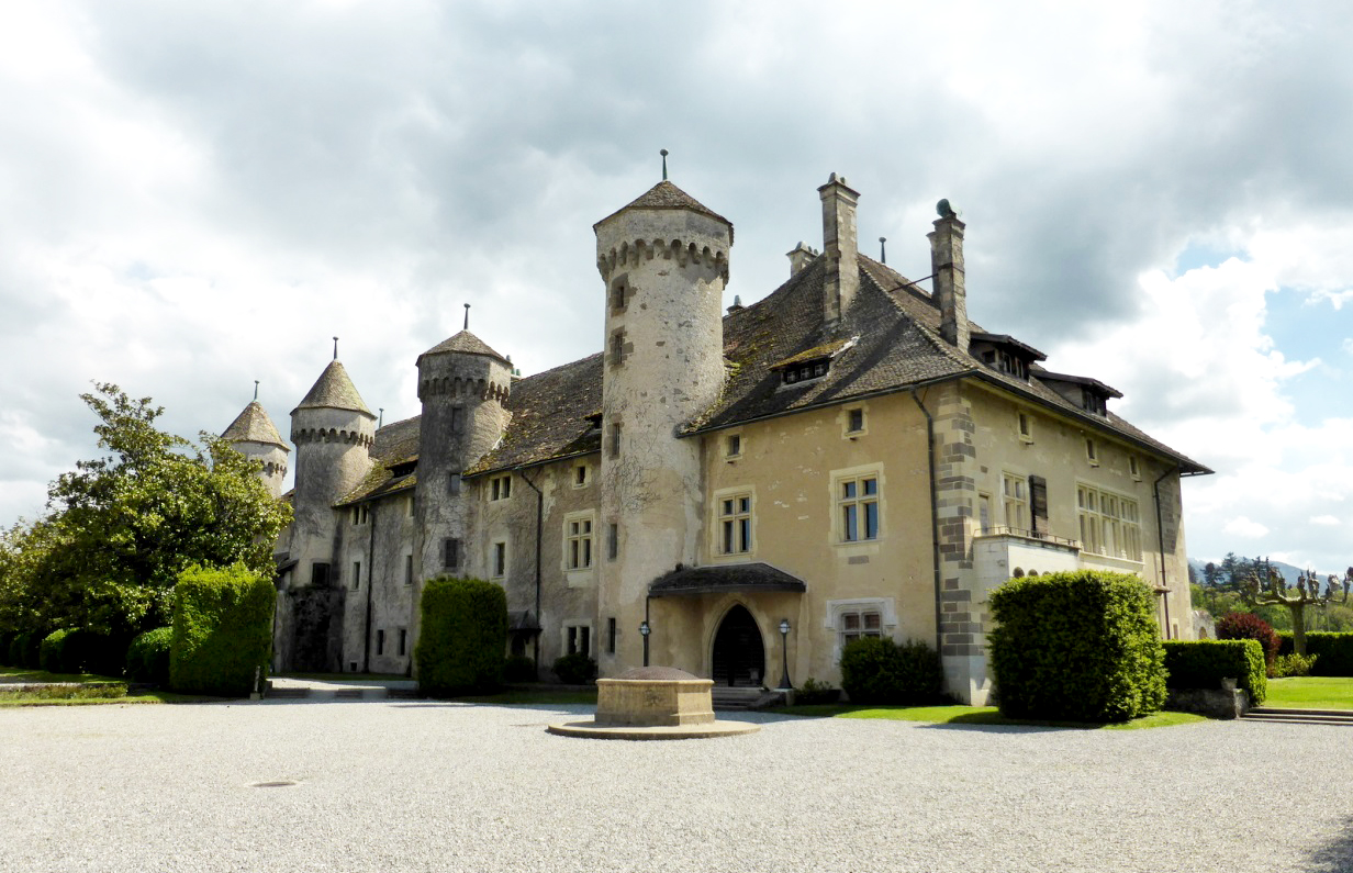 Замок Рипай, Тонон-ле-Бен