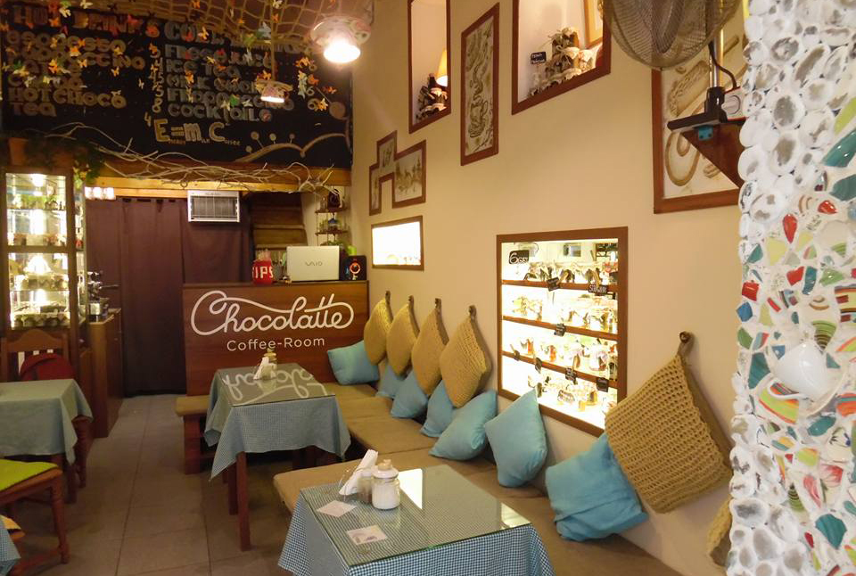 Интерьер Chocolatte coffee-room