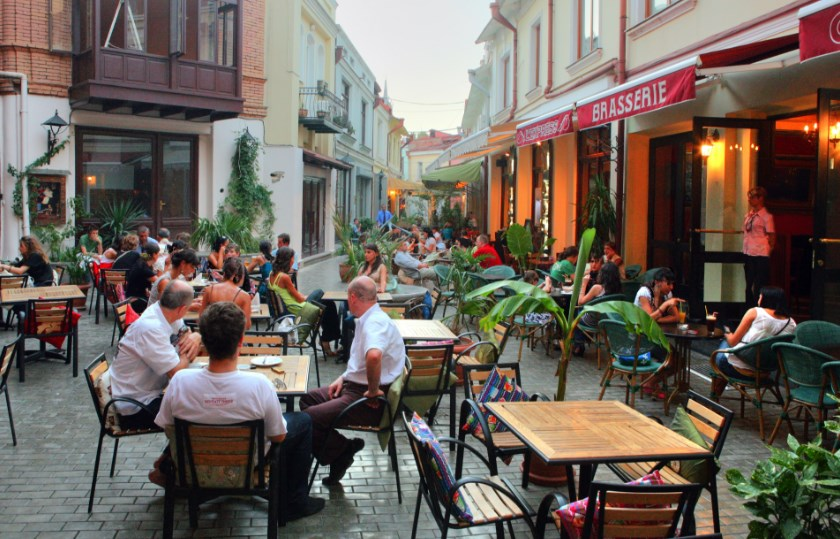Кафе в районе Старый город
