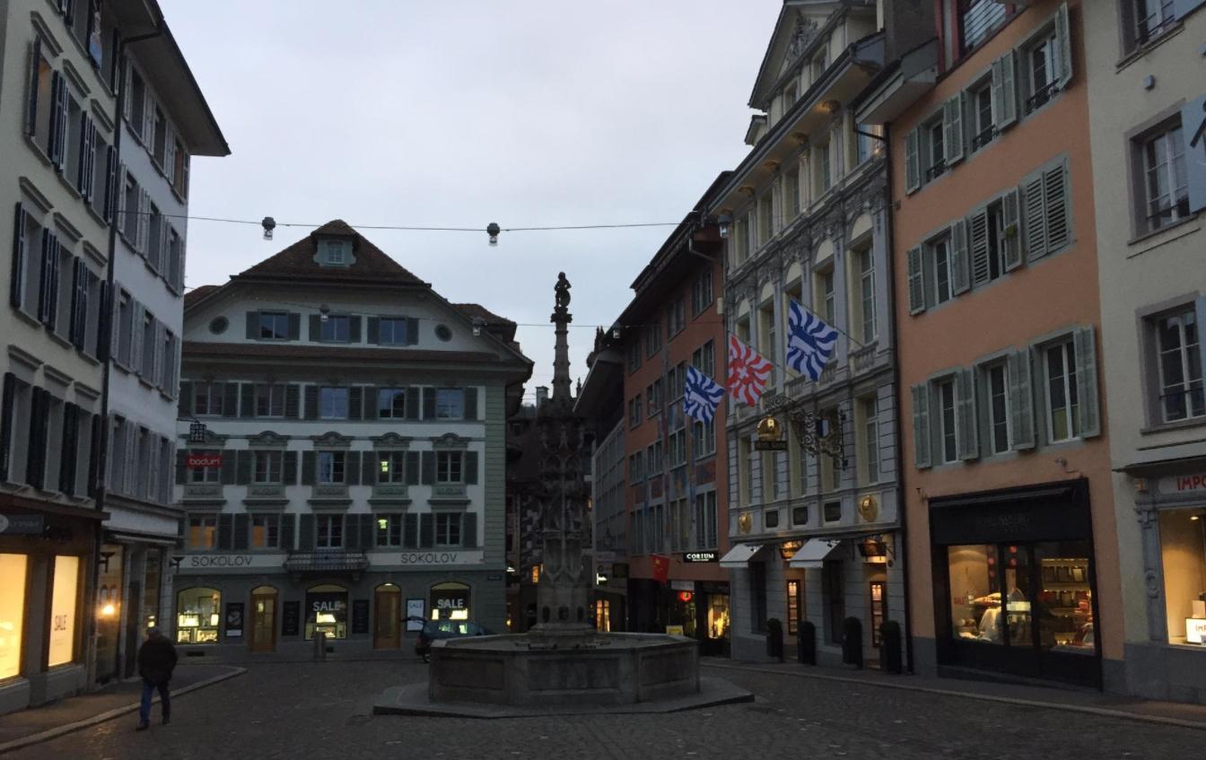 Площадь Корнмаркт (Kornmarkt)