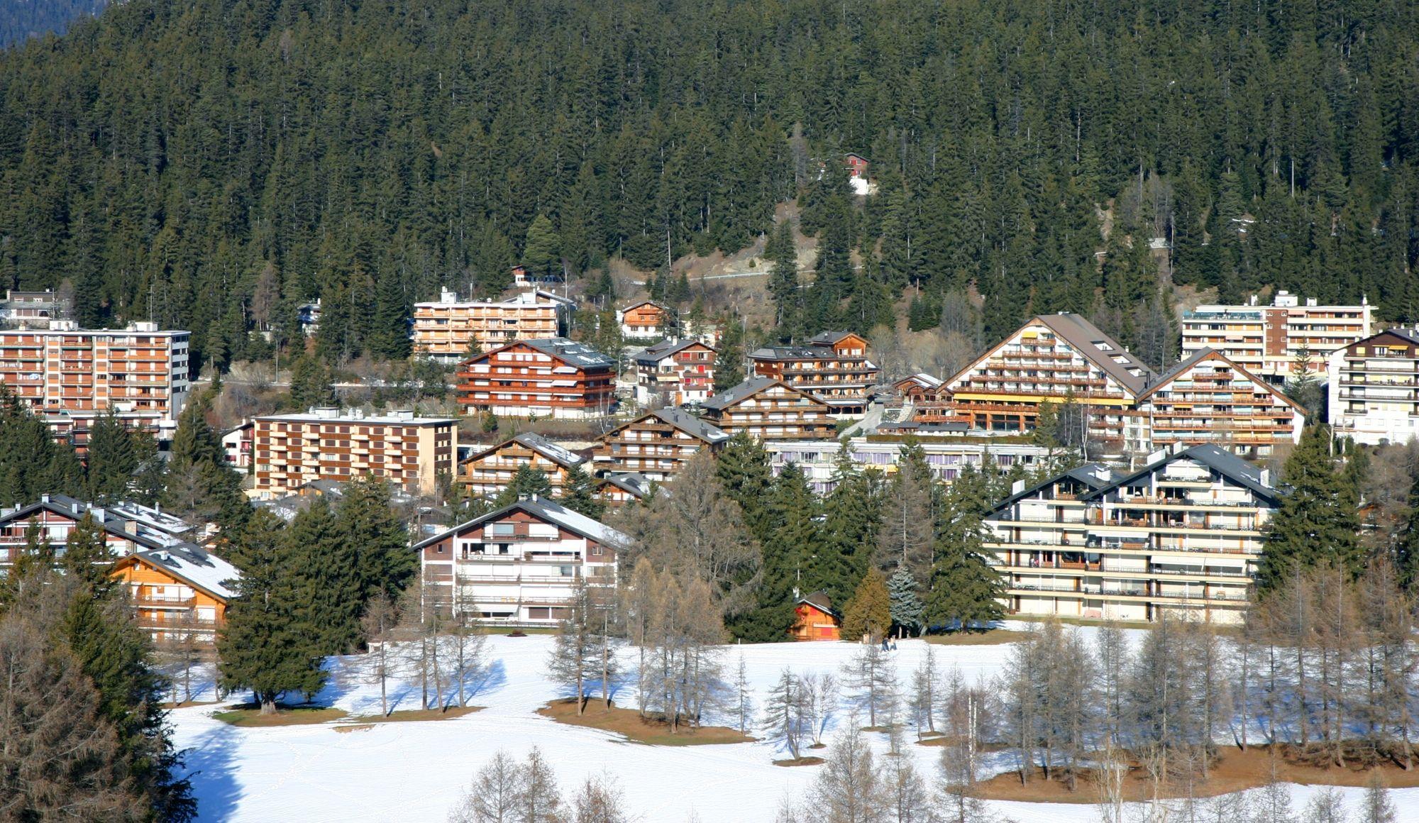 Кран-Монтана – это целый район из трех деревень
