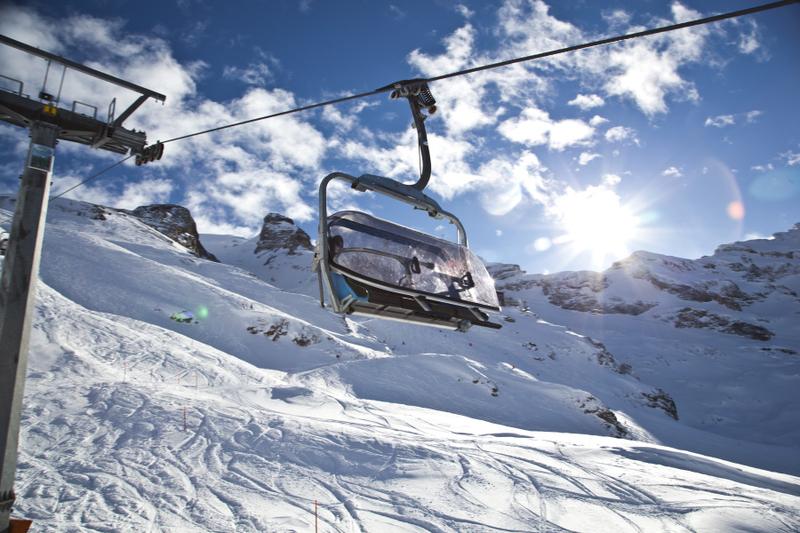 Лыжный подьемник