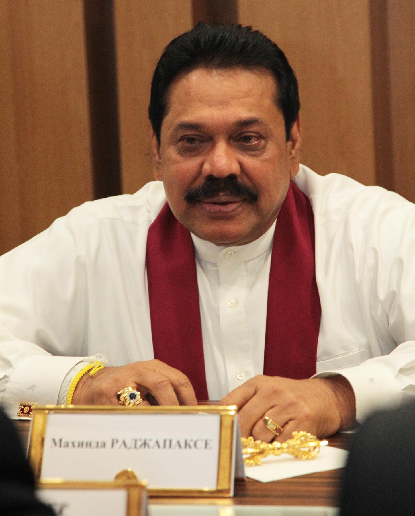 Президент Шри-Ланки - Махинда Раджапаксе