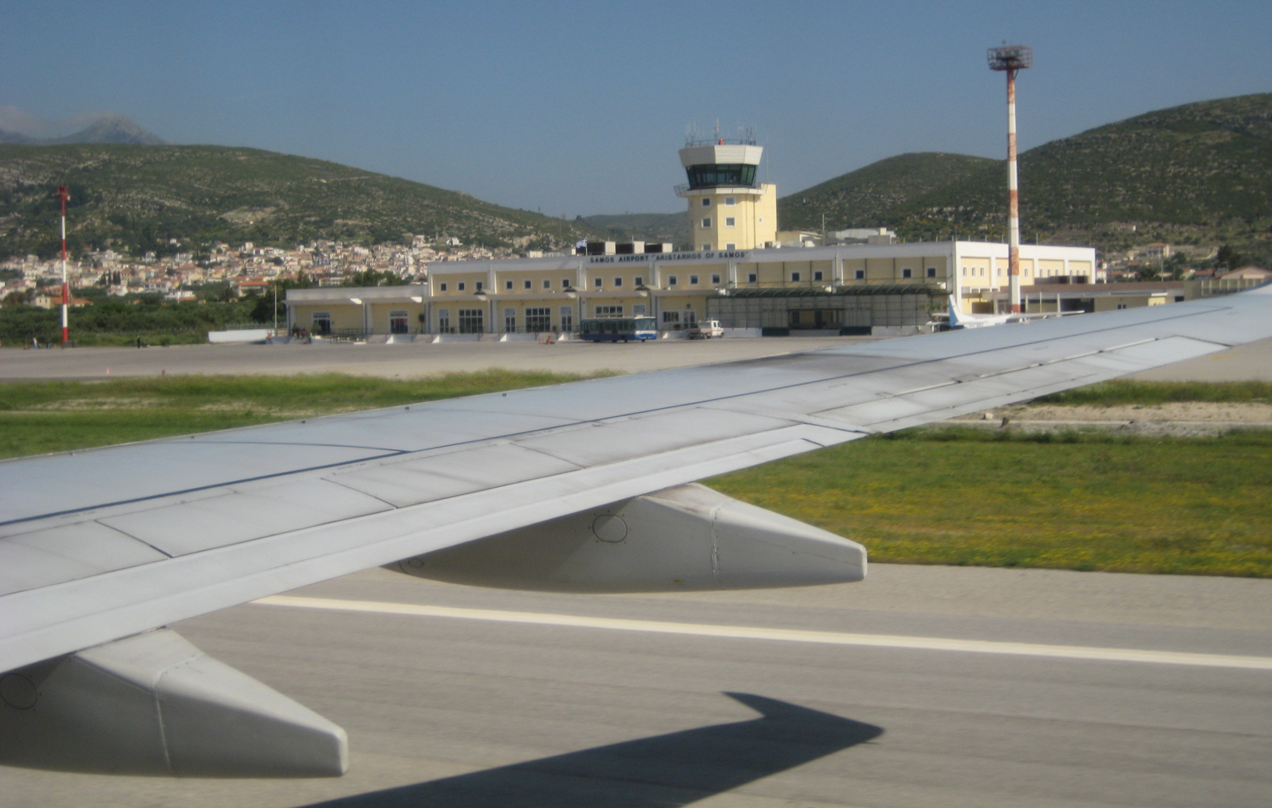 Международный аэропорт «Аристарх Самосский» на острове Самос