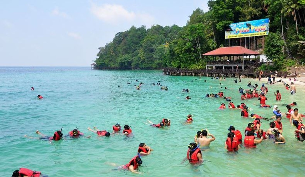 Морской парк Pulau Payar