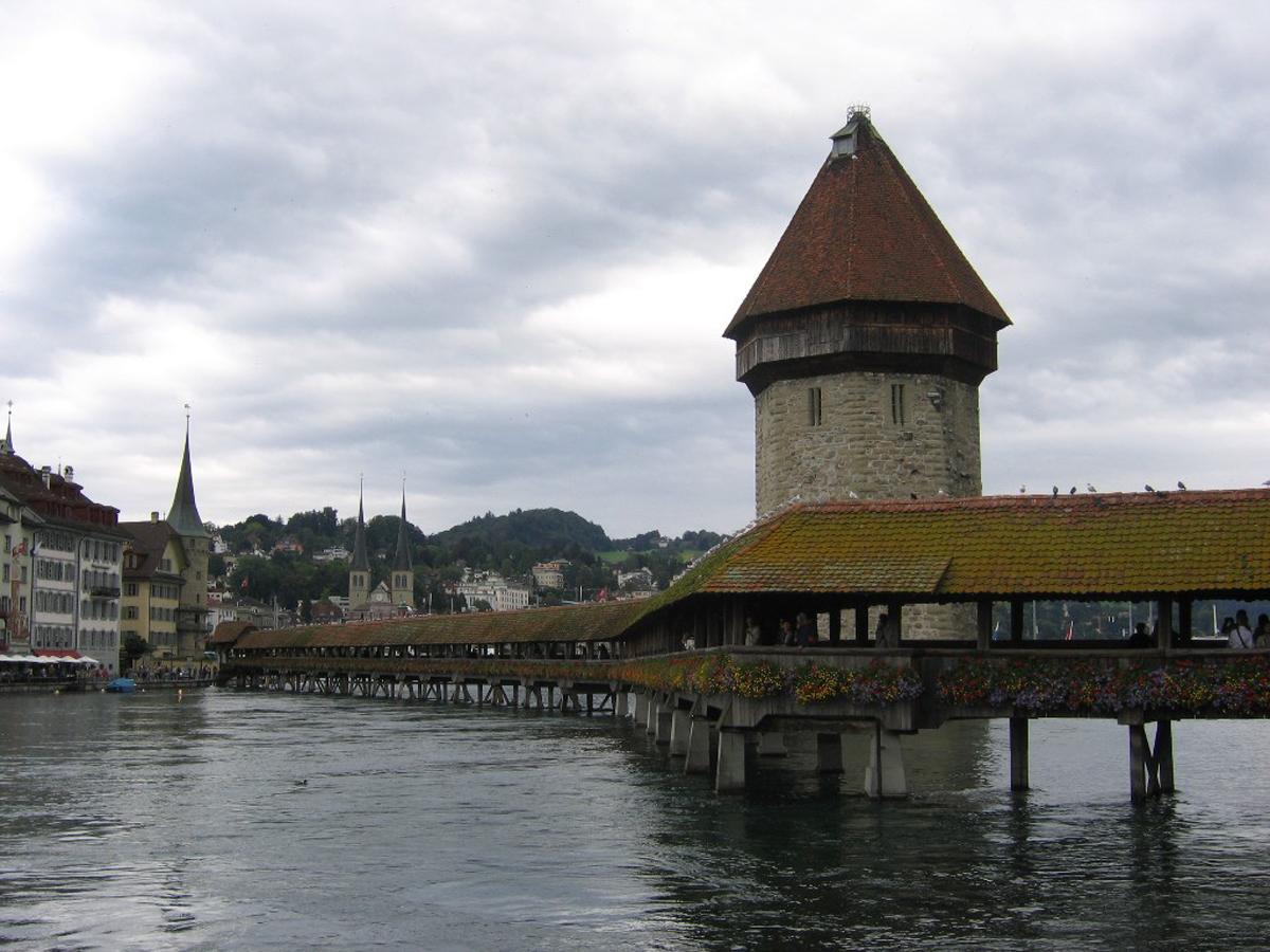 Мост Капелльбрюкке, Люцерн