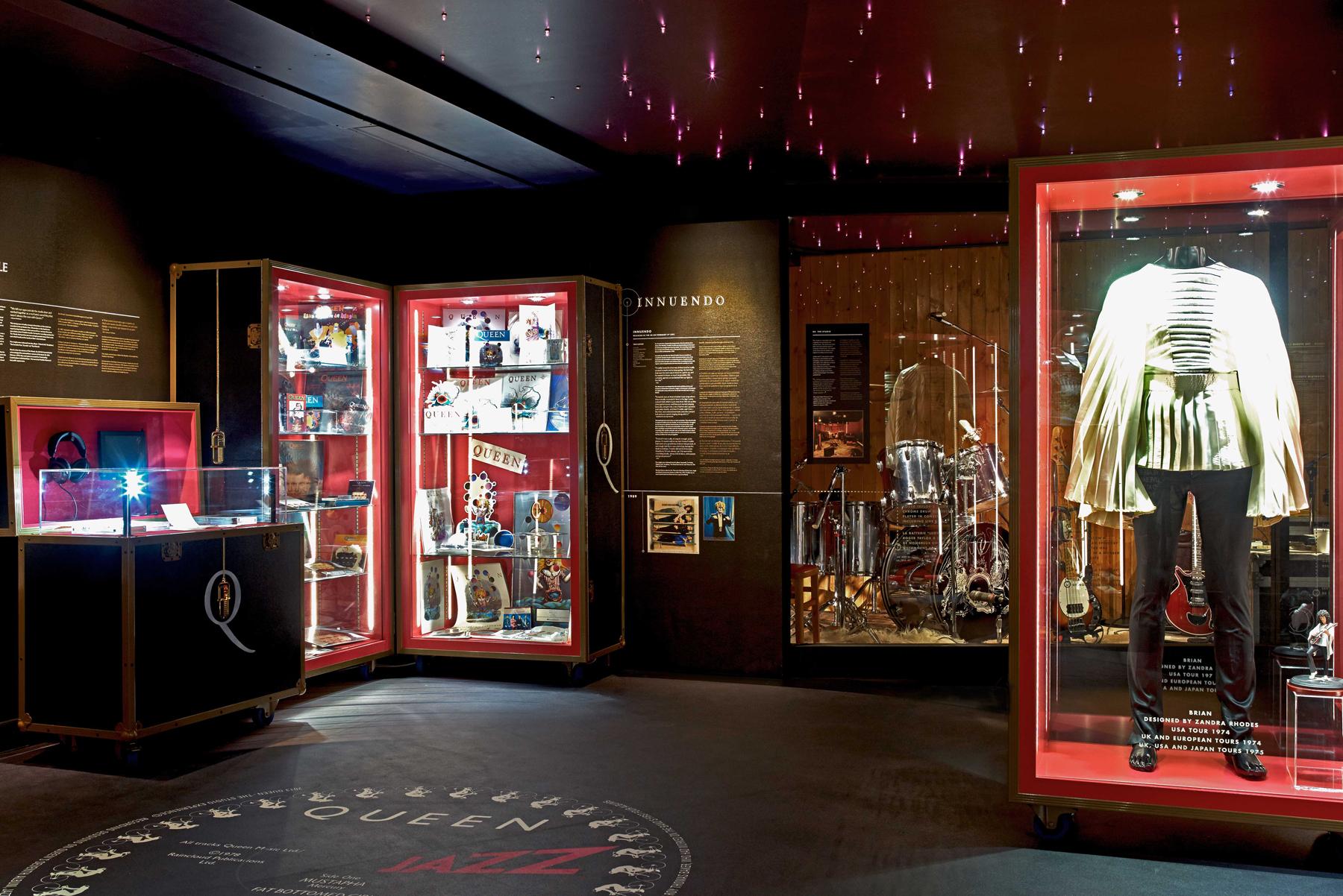Музей студии звукозаписи группы Queen