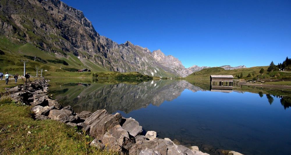 Небольшое озеро Трюбзее