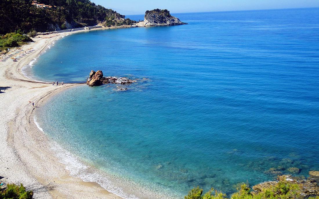Пляж Потами, Самос