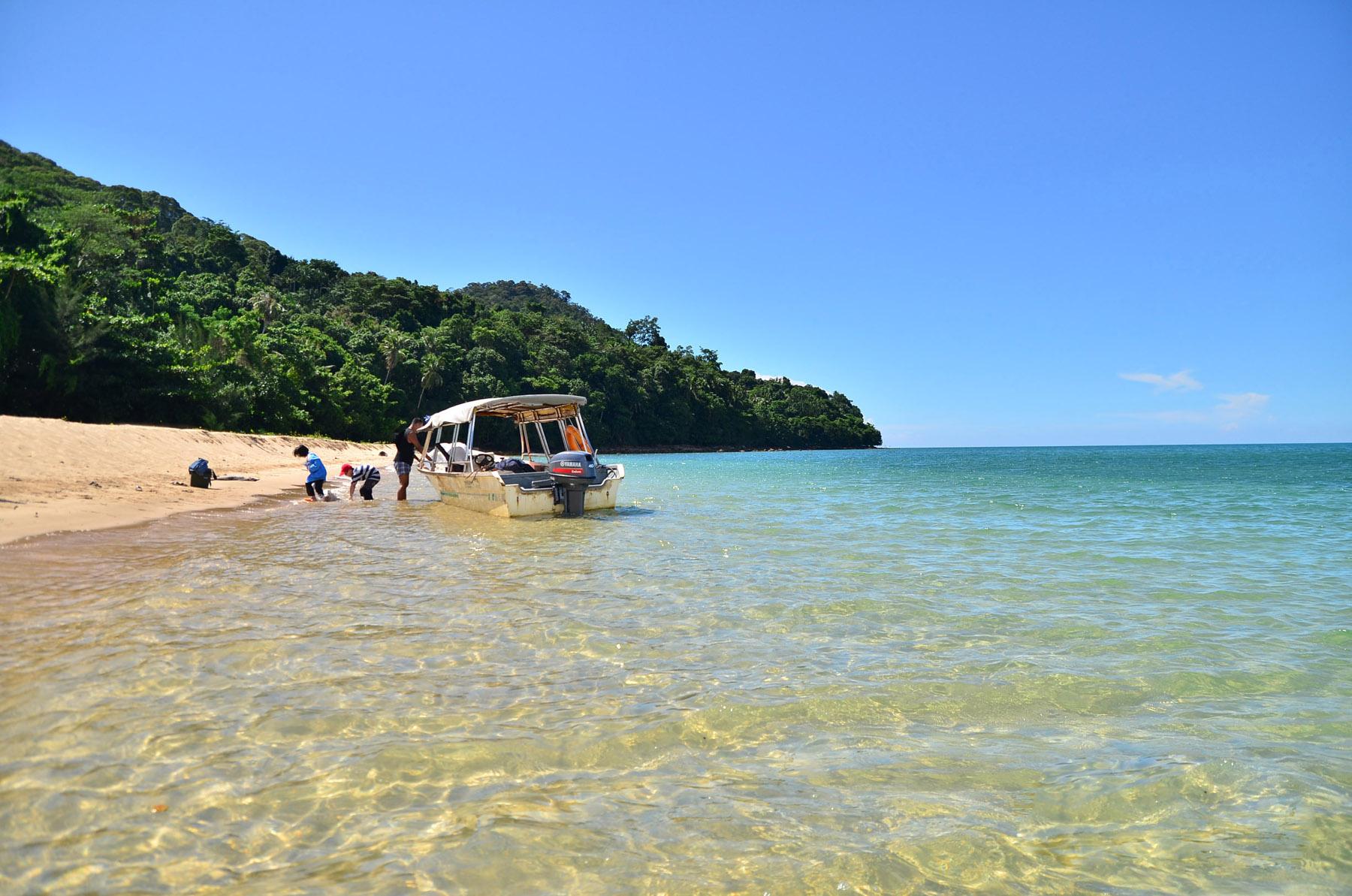 Пляж Pulau Satang Besar