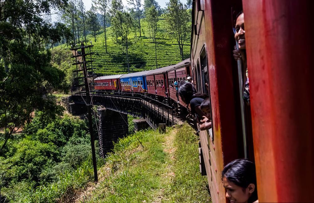 Поезд в Канди