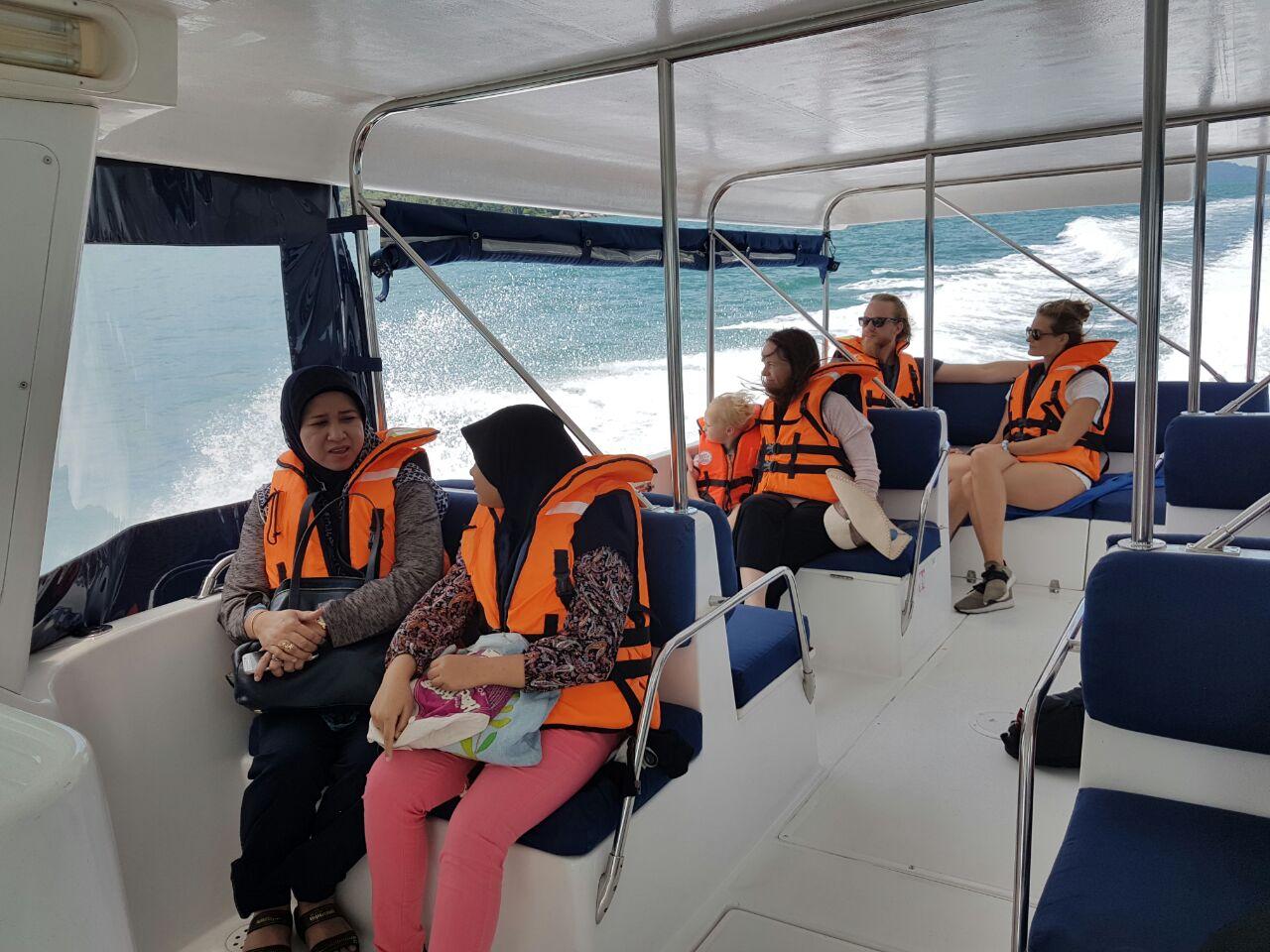 Прогулка на катере вокруг Пангкора